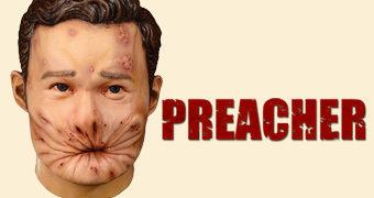 """Máscara Eugene """"Arseface"""" da Série Preacher"""