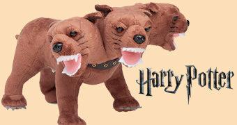 Fofo (Fluffy) de Pelúcia, o Cão de Três Cabeças em Harry Potter