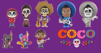 Viva – A Vida é Uma Festa (Coco) Mystery Minis do Novo Filme da Pixar