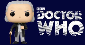 Boneco Pop! Doctor Who: William Hartnell como o 1º Doctor (NYCC-17)