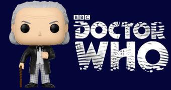 Boneco Pop! Doctor Who: William Hartnell como o 1º Doctor (NYCC-17)