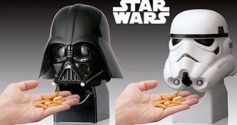 Porta-Balas Automáticos Star Wars: Darth Vader & Stormtrooper