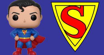 Boneco Pop! Superman Action Comics #1 (Primeira Aparição)
