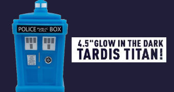 Doctor Who TITANS: TARDIS Fosforescente