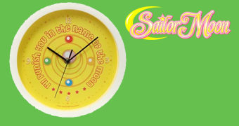 Relógio de Parede Sailor Moon Punishment Clock