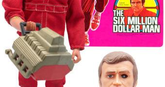 O Homem de Seis Milhões de Dólares Action Figure Clássica Kenner no Dia das Crianças!