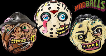 Madballs Horrorballs de Jason Voorhees, Freddy Kruger e Leatherface