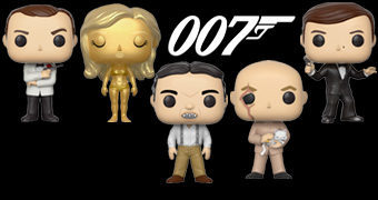 Bonecos Pop! James Bond 007