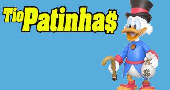 "Tio Patinhas Action Figure Funko 3.75"" Duck Tales"