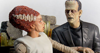 Estátua Bride of Frankenstein 1935: A Noiva e O Monstro