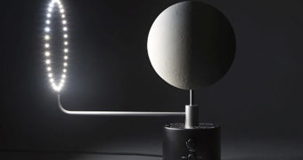 Luminária Moon Lamp Globe, uma Réplica Perfeita da Lua
