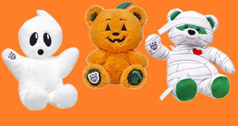 Ursos de Pelúcia Build-a-Bear Halloween Workshop