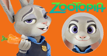Action Figure Judy Hopps (Zootopia) Revoltech Complex Movie Revo
