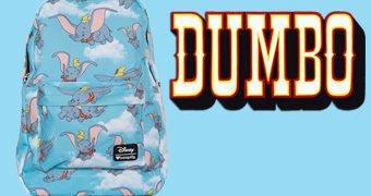 Mochila Loungefly Disney: Dumbo Voando