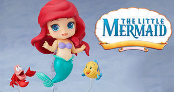 Boneca Nendoroid Ariel Little Mermaid (A Pequena Sereia Disney)