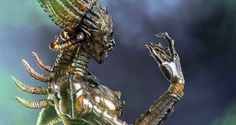 Sil Alienígena em Species (A Experiência) – Action Figure Perfeita 1:6 Threezero
