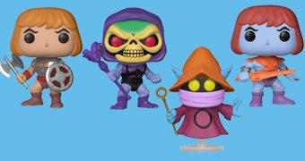 Bonecos Pop! He-Man e os Mestres do Universo Série 2