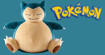 Snorlax, o Pokémon de Pelúcia Fofão!