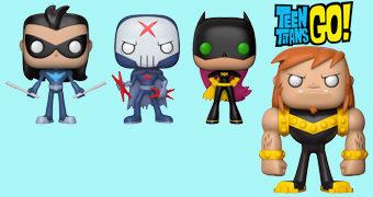 Bonecos Pop! Teen Titans Go! (Os Jovens Titãs em Ação) Série 2