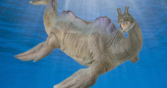 Monstro de Loch Ness – Nessie Sofubi Toy Box