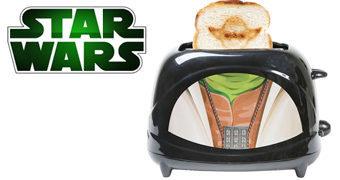 Torradeira Mestre Yoda Star Wars