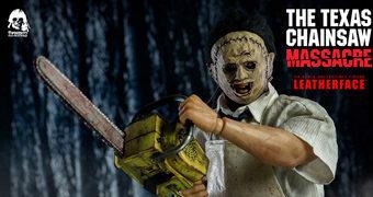 Leatherface em O Massacre da Serra Elétrica – Action Figure Perfeita 1:6 ThreeZero