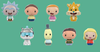 Rick and Morty Pint Size Heroes – Mini-Figuras Funko Blind-Box