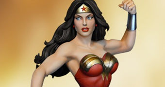 Maquete Tweeterhead Wonder Woman Super Powers Escala 1:6