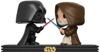 Movie Moments trazem cenas clássicas de Star Wars em Funko Pop!