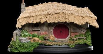Diorama Miniatura Farmer Maggot Hobbit Hole em O Senhor dos Anéis