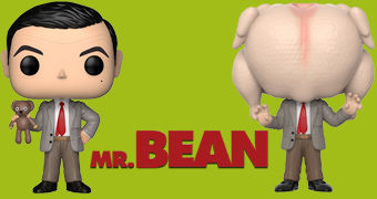 Bonecos Pop! Mr. Bean (Rowan Atkinson)