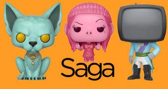 Bonecos Pop! Saga – A Space Opera Épica em Quadrinhos