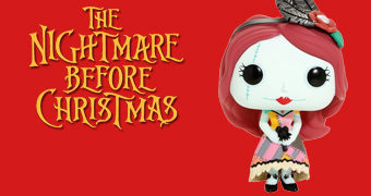 Sally, a Elegante Boneca de Trapos Pop! (Nightmare Before Christmas)