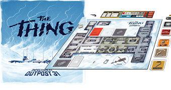 Jogo de Tabuleiro O Enigma de Outro Mundo (The Thing) de John Carpenter