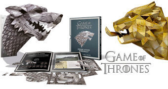 Máscaras Games of Thrones 3D de Papel