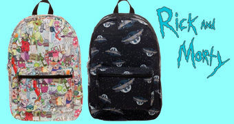 Mochilas Rick and Morty (Bioworld)