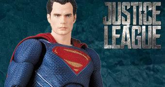 Superman MAFEX Liga da Justiça – Action Figure Medicom