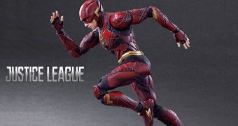 The Flash Action Figure Play-Arts Kai do Filme Liga da Justiça