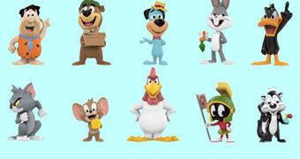 Desenhos Animados Warner Bros. Mystery Minis – Mini-Figuras Funko Blind-Box