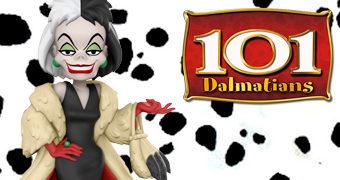 Boneca Cruella De Vil Rock Candy (101 Dálmatas)