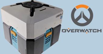 Cofre de Moedas Loot Box do Game Overwatch