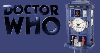 Relógio Cuco Doctor Who TARDIS