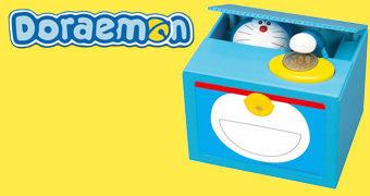 Cofre de Moedas Doraemon Itazura Piggy Bank