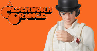 Alex Clockwork Orange MAFEX – Action Figure Medicom 1:12 Laranja Mecânica de Stanley Kubrick