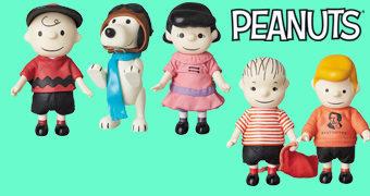 Bonecos Peanuts Vintage UDF da Medicom Toy Japão