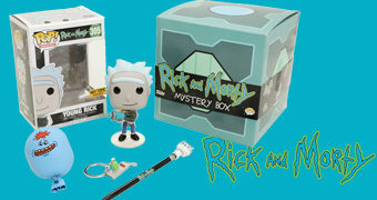 Caixa Rick & Morty Funko Mystery Box!