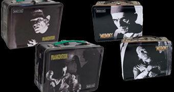 Lancheiras Boris Karloff: Frankenstein e A Múmia (Monstros do Universal Studio)