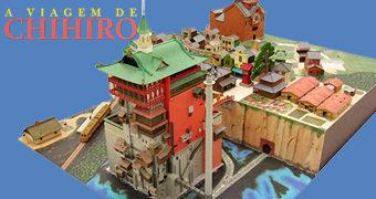 Diorama da Cidade Misteriosa de A Viagem de Chihiro (Hayao Miyazaki)
