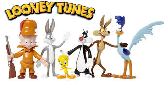 Bonecos Flexíveis Looney Tunes Bendable Figures