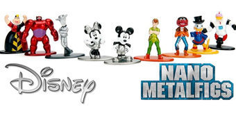 Disney Nano Metalfigs – Mini-Figuras de Metal Die-Cast
